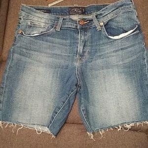 Lucky Brand Shorts - Lucky Brand  Bermuda Jean Shorts